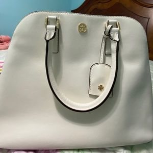 Tory Burch Robinson Open Dome Satchel; BRAND NEW